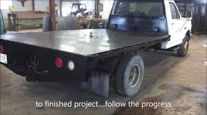 100 Custom Flatbed Trucks Fabricated Diamond Plate Truck With CNC