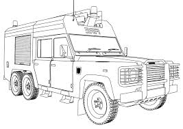 Firetruck #77 (Transportation) – Printable Coloring Pages