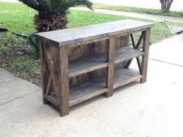 How To Build A Rustic Tv Stand Best 25 Stands Ideas