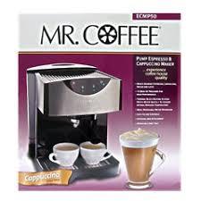 Mr Coffee Pump Espresso Cappuccino Latte Maker ECMP50