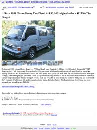 100 Craigslist Portland Oregon Cars And Trucks For Sale By Owner 12500 Homy Dont You Know Me