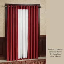 120 Inch Length Blackout Curtains by Grommet Curtains And Tab Top Panels Touch Of Class