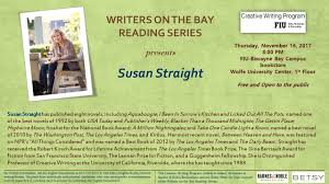 Writers On The Bay Reading Series Presents Susan Straight ... Shopfiu Office Of Business Services Florida Intertional Barnes Noble Closing In Aventura 33180 Salad Creations Restaurants Comcement News At Fiu University Losses Blame It On Harry Potter How It Works One Card Home James Morsut Blog As If No One Is Reading Provost Office And