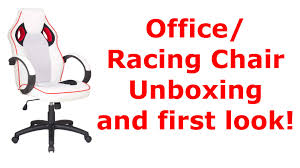 Playseat Office Chair White by The Expensive Cheap Office Racing Chair White U0026 Red Unboxing And