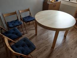 esstisch mit stühlen zum verkauf in 52064 aachen for 160 00