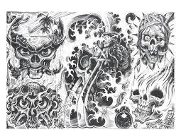 Skullys Halloween Express Milwaukee by Demon Tattoo Design A 1 Pinterest Demon Tattoo Tattoo