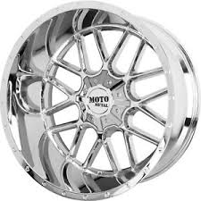 siege ford 22x10 chrome moto metal mo986 siege wheels 8x170 18 lifted fits