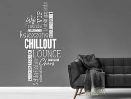 furniture stickers wandtattoo chillout lounge relax chillen