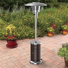 Propane Patio Heat Lamps by Gardensun 40 000 Btu Stainless Steel Pyramid Flame Propane Gas