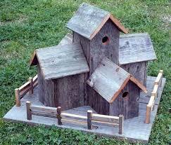 Image Of Rustic Birdhouses Barnwood