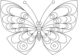 Printable Monarch Butterfly Coloring Pages Free For Adults Picture Of