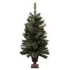 Pre Lit White Flocked Christmas Tree by Shop Astella 3 6 Ft Pre Lit Slim Flocked Artificial Christmas Tree