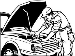 Mechanic Clipart Black And White ClipartXtras