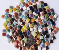 200g vitreous ceramics mosaic 200pcs tiles wall crafts mixes optic