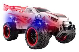 Amazon.com: Vokodo Light Up Body And Wheels Ready Thunder Remote ... Rc Toys Monster Jam Truck Sonuva Digger Remote Control Unboxing Semi Trucks Tamiya Cabs Trailers Traxxas 110 Scale Trx4 Trail Crawler Land Rover Rtg Rc Car Electric 4wd Off Road Rock Dodge Ram Offroad Woffroad Tires 4wd High Speed The Gear Fox Best Buy Remotecontrolled Ford F250 2127 Toys At Pulling Controlled All Vehicles Excavator Tractor Cstruction Simple Fpv Video Addon For Hail To The King Baby Reviews Buyers Guide