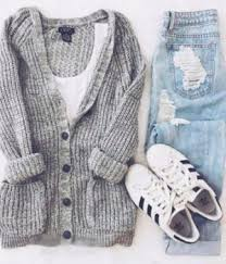 40 Cute Outfits For School Cold Summer