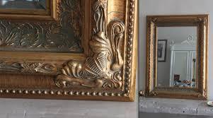 cadre ancien pas cher miroir déco de style ancien doré 96 cm