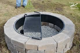 Our New Belgard Outdoor Fire Pit Cottage at the Crossroads