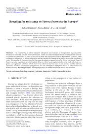 bred si e social bee and genetics in europe pdf available