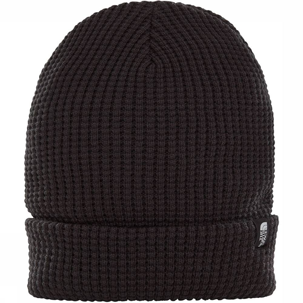 The North Face TNF Waffle Beanie Black
