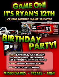 ZOOM Mobile Game Theater - Kansas City Video Game Parties 15 Best Laser Tag Party Images On Pinterest Tag Party Emoji Invitations Template Printable Theme Invite Game Tylers Video Truck Plus A Minecraft Freebie Robot Birthday Omg Free Inflatables Mobile Parties Invitation Design Monster Carnival Printables Circus Amazoncom Fill In My Little Pony Dolanpedia