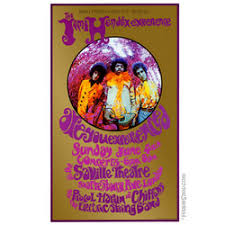 Concert Posters Jimi Hendrix Experience