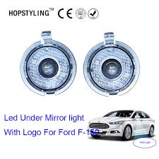 car styling cool 2x for ford f 150 edge led mirror