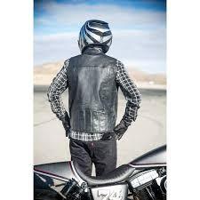roland sands colt leather vest vests motorcycle fortnine canada