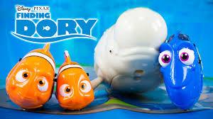 Finding Nemo Baby Bath Set by Finding Dory Movie Toys Dory Marlin Nemo Bailey Zuru Robofish