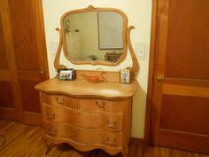 antique 1920 s 30 s birdseye maple mirrored dresser vanity for