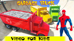 Garbage Trucks Colors With Spiderman Cartoon For Kids W Nursery ... Heil 7000 Garbage Truck St Petersburg Sanitation Youtube Song For Kids Videos Children Kaohsiung Taiwan Garbage Truck Song The Wheels On Original Nursery Rhymes Road Rangers Frank Ep Garbage Truck Spiderman Cartoon Trash Taiwanese Has A Sweet Finger Family Daddy Video For Car Babies Trucks Route In Action First Gear Freightliner M2 Mcneilus Rear Load
