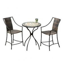 High Top Patio Furniture Sets by High Top Bistro Sets Foter