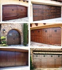 Impressive Rustic Garage Door Style