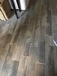 my wood look tile