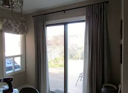 Sliding Door With Blinds by Fresh Black Sliding Door Curtains 797