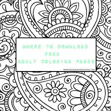 Good Free Download Coloring Pages For Adults 24 With