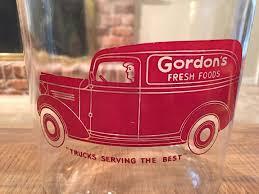 100 1930s Trucks Vintage 1 Gal Gordons Peanut Jar Canister Toms Lance Store