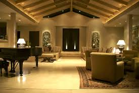 interior home lighting vaulted ceiling crown moulding ideas to