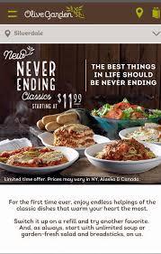 Olive Garden Home Silverdale Washington Menu Prices