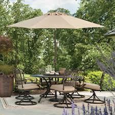 Sams Club Patio Set With Fire Pit by Member U0027s Mark Madison Porcelain And Aluminum Dining Set With