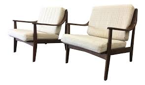 Pair Of Mid-Century Modern Arm Chairs Accent Chairs | Chairish Acme Fniture Darian Light Blue Fabric And Brown Accent Chair 59563 Risley Shadecrest Tan Rooms To Go Hd 09 Homey Design Old World European Victorian Moderately Scaled Corinna The Alenya Wood Arm Miami Direct Carson Carrington Camilla Century Navy Chairs With Craftmaster 054810 English With Deep Seat Better Homes Gardens Rolled Multiple Colors Sophia Bianca Midcentury Modern Sloped Track Arms Haley Jordan 552 552mountain View Cement Upholstered