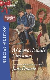 100 Cowboy In Rocking Chair A Family Christmas Rodeo Judy Duarte
