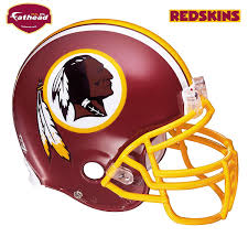 Fathead Princess Wall Decor by Amazon Com Fathead Washington Redskins Helmet Wall Decal
