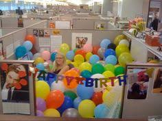 decorate your office with birthday banners buntings office