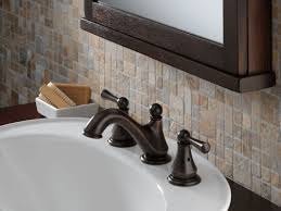 Delta Antique Bronze Bathroom Faucets by Faucet Com 35902lf Rb In Venetian Bronze By Delta