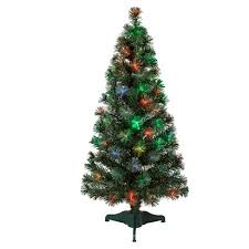 Philips 4ft Prelit Artificial Christmas Tree LED Fiber Optic