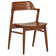 Rivet Mid-Century Modern Low-Back Dining Chair, 30