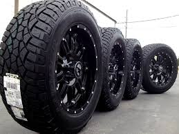 Black Truck Rims And Tires | Explore Classy Wheels And Rims ...