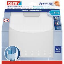 tesa powerstrips aufbewahrungs korb waterproof groß