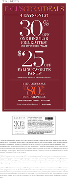 Talbots Coupons January 2018 / Greektown Chicago 50 Off Talbots Coupons Promo Discount Codes Wethriftcom Dealigg Coupons Helpers Chrome The Perfect Cropchambray Top Savings Deals Blogs Dudley Stephens New Releases Coupon Code Kelly In The City Batteries Plus Coupon Code Discount 30 Off Entire Purchase Store Macys 2018 Chase 125 Dollars